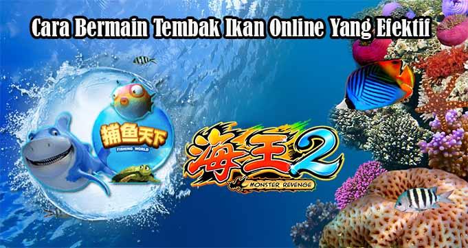 Cara Bermain Tembak Ikan Online Yang Efektif